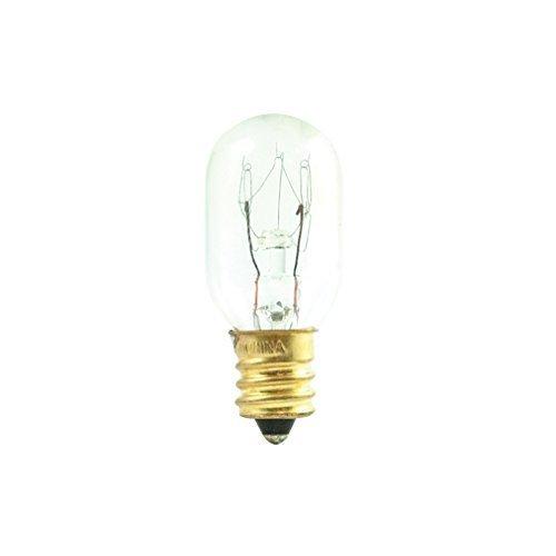 bulbrite 70611515t715W Glühlampe Unterhaltungs-& Appliance T7Glühbirne mit Leuchter Boden, klar von bulbrite (Klar Appliance Glühbirne)