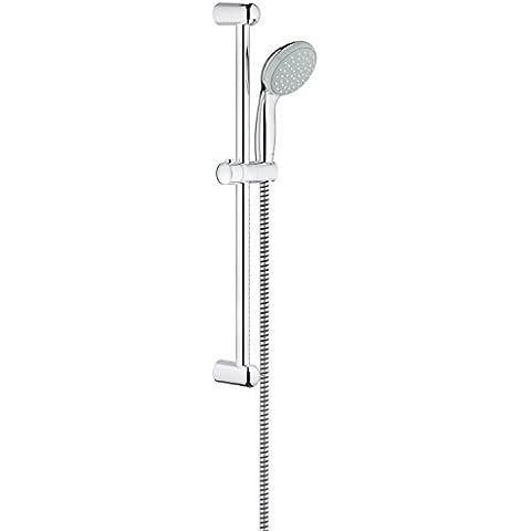 Grohe New Tempesta 100 - Conjunto de barra de ducha, 1 chorro