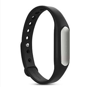 Bracelet ARBUYSHOP New Bracelets Xiaomi Miband sommeil de surveillance de 30 jours en veille compteurs intelligents Step Bluetooth Pour Android IOS, Noir LED