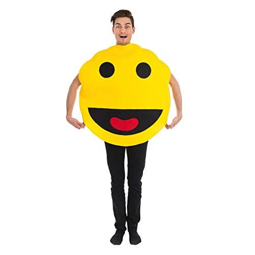 Chaks C4146, Kostüm Jon Man Smiley gelb Erwachsene