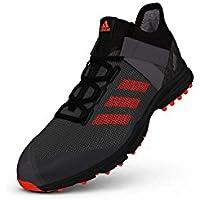 reputable site 74b66 1e42d adidas , Chaussures de Hockey sur Gazon pour Homme - Noir - Noir, 38 2