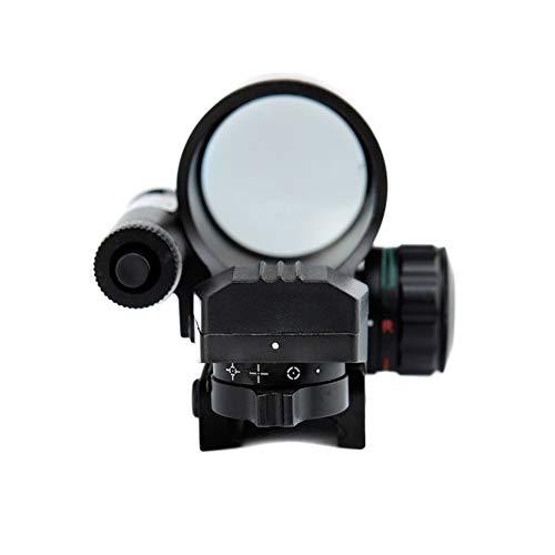 YODZ Taktisches Zielfernrohr Abnehmbarer Red Dot-Anblick Holographisches verstellbares Absehen für 11mm / 20mm Weaver/Picatinny-Schienenmontage und Weaver-Slots