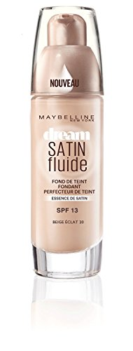 Maybelline New York Dream Satin Fondotinta Liquido, 21 Nude
