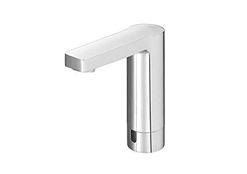 Roca A5A5701C00 – Grifería electrónica para lavabo (un agua) con limitador de caudal. alimentación con conexión a red 230 v. incluye fuente de alimentación.