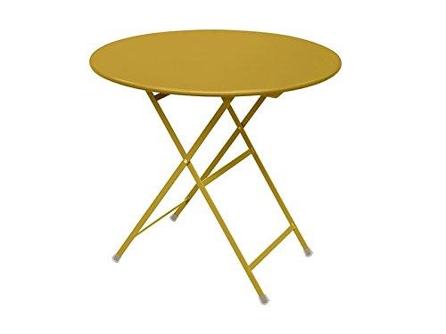Arc en ciel Emu Table pliante ronde cm. 80 art. 346 Couleur Orange Code 68