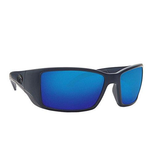a408ae44ac Costa Del Mar Gafas de sol Blackfin, (Midnight Blue/Blue Mirror 580Plastic)