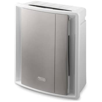 De'Longhi AC 230 Luftreiniger (Allergikergeeignet, Vorfilter, EPA Filter, Aktivkohlefilter, Nano Silver Filter, UV-Filter, Geeignet für Räume bis 80 m³)