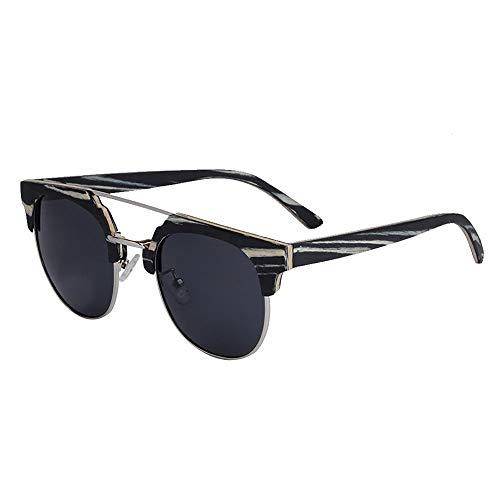 Sonnenbrillen Mann und Frau, UV400 polarisierende Unisex-Holz-Sonnenbrille True Color, als Geschenk für Freunde und Verwandte aller Arten von Festivals und Reisen, Sport und Outdoor-Aktivitäten