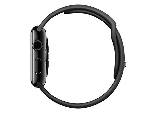 31W80V6Yw8L - [Gravis] Apple Watch Space Schwarz Stainless Steel mit Sportarmband 42mm für nur 239€