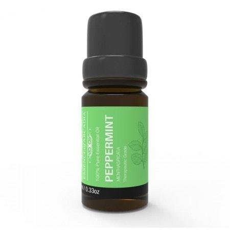 Top Aromatherapy Peppermint Essential Oil - (10ml Each) - 100% Therapeutic Grade Oil - Ideal for Massage, Diffusers, Humidifiers
