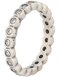 Pandora anillos Mujer plata circón