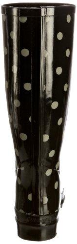 Fulton Corporation Cath Kidson Spot Charcoal, Bottes de Pluie femme Gris - Grau (Spot Charcoal)