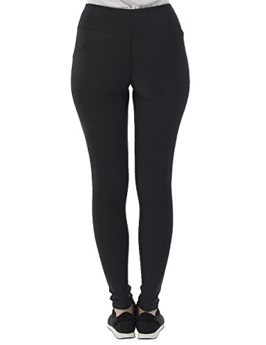 Bench Damen Leggings Baddah O Jet Black