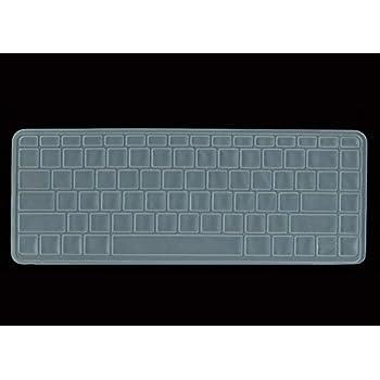 Black with Clear Saco Chiclet Keyboard Skin for Lenovo IdeaPad V570