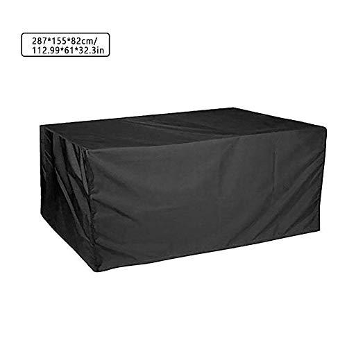Tisch Abdeckung Schutzhülle - Wasserdicht, Winddicht, Feuchtigkeitsbeständig und UV-beständig - Outdoor Möbel Abdeckhaube für Garten (Dass Sitz-sofa-abdeckung Sie Sicher,)