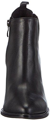 Marco Tozzi Premio 25022 Damen Chelsea Boots Schwarz (Black Ant.Comb 096)