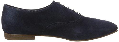 Vagabond Clara, Chaussures à Lacets Femme Bleu foncé