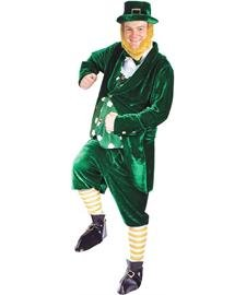 Deluxe Leprechaun Costume Adult ()