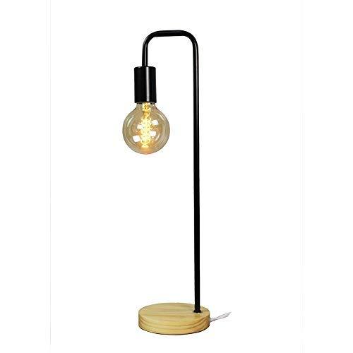 Schreibtischlampe Lampe Dekorationen für Nachttisch, Wohnzimmer, Büro und Wohnheim E27 Max 40W