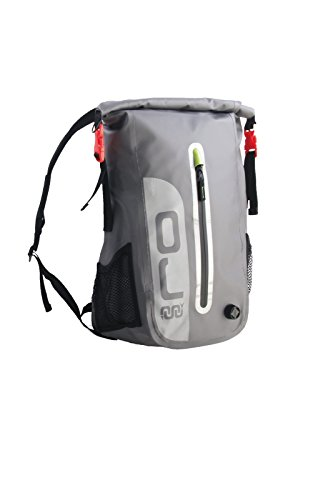 Imagen de  moto scooter oj m151mini dry pack, 100% impermeable, correas, acolchados correa de seguridad al pecho y vida, tamaño 45cm x 25cm x 18cm, volumen color 15l