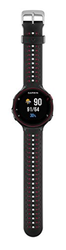 Garmin-Forerunner-235-GPS-Running-Watch-with-Elevate-Wrist-Heart-Rate-and-Smart-Notifications-BlackMarsala-Red