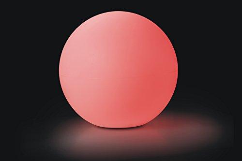 LED-Lampe Kugel-Leuchte 50 cm XL groß für Innen und Außen, Garten, Terrasse, mit 60 LEDs Farbwechsel mit Fernbedienung