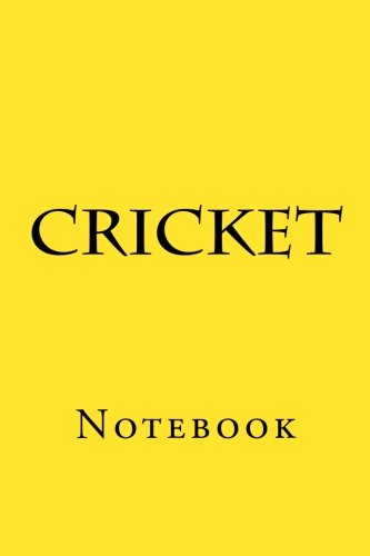 Cricket: Notebook