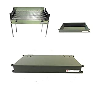 ALLEGRI Barbecue with Shardan® Grill completely removable charcoal or wood
