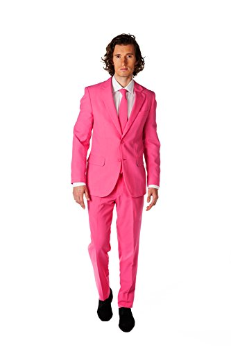 OppoSuits Herren Kostüm Mr. Pink, - Halloween-kostüme Amazon Baby Uk