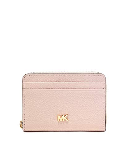 The stylish and compactMICHAEL Michael Kors pebbled leather wallet is the perfect size to fit into any tote or clutch bag, keeping your cards and cash safe and secure. Rendered in genuine pebbled leather, this chic accessory features plenty of compa...