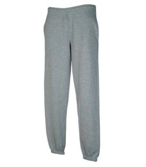 Fruit The Loom-hosen Of (Sweatware * Jog Pants elastisch * Fruit of the Loom graumeliert,M)