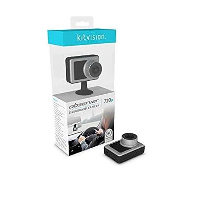 Kitvision-Observer-Dash-Cam-720p-mit-Eingebautem-G-Sensor-KollisionsdetektorBewegungserkennungParkmodus