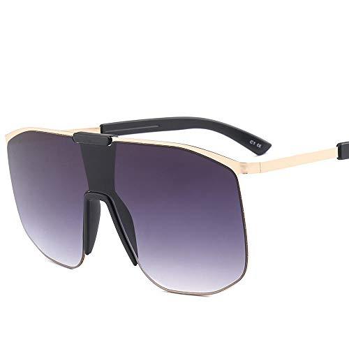 Retro quadratische rahmenlose Sonnenbrille - UV400-Schutzbrille - Damen/Herren Freizeitbrille-Lila