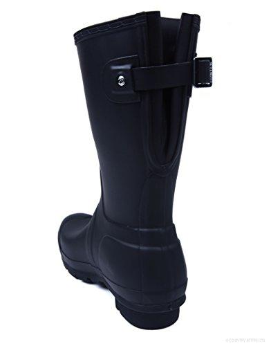 Hunter Org. Back Adjustable Short Black - Zwart