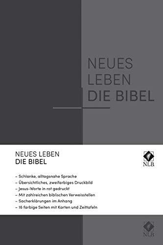 Neues Leben. Die Bibel, Standardausgabe, ital. Kunstleder grau mit Reißverschlus