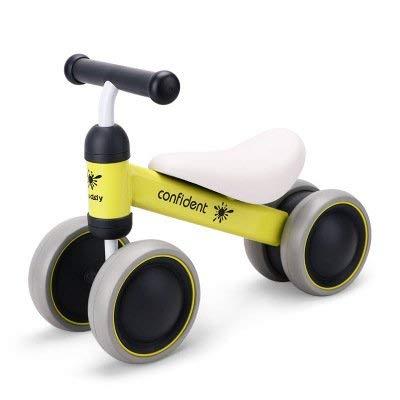 Fahrrad Fahrrad Für Kinder Walker 10-24 Monate Kein Pedal Neugeborenen Vier Räder Kinder Fahrrad Erste Geburtstagsgeschenk ()