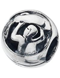 Virtue Silver 'Aquarius' Star Sign Bead