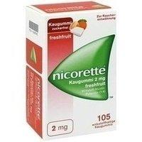 Nicorette 2mg freshfruit 105 stk