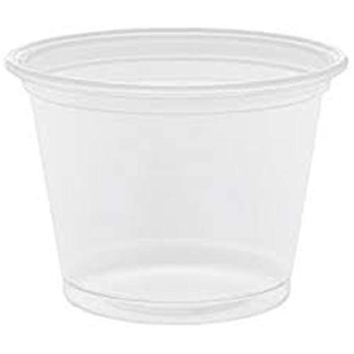 Plastic Test Tubes LTD Schnapsglas, 25ml, Vodka Jelly, mit Deckeln, 50 Stück