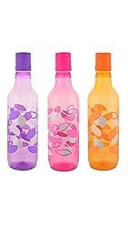 Aarushi Polypropylene Water Bottle Pack of 3 (500 ml each)
