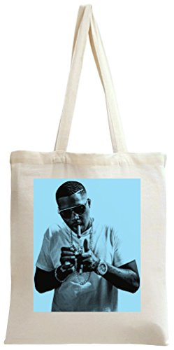 NAS Lighting Up A Cigar Portrait Print Tote Bag
