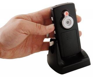 Überwachungskamera mit Aufnahmefunktion auf SD-Karte