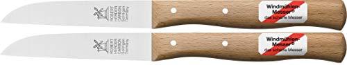 leines Küchenmesser mit Holzgriff, Schälmesser, 8,5 cm Herder Windmühlenmesser Klassiker mittel ()