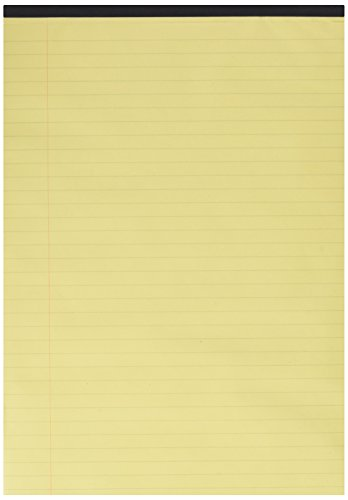 q-connect-kf01387-executive-pad-a4-ruled-feint-and-margin-pack-of-10-yellow