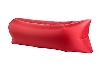 LuckyNV Portable Lazy Sofa Inflatable Air Bed Lounger Bed Beach Sleeping Bags Mattress 240x70cm - cheap UK light store.