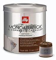 illy iperEspresso capsules - Monoarabica BRAZIL - 2 tins (2 x 21 capsules)