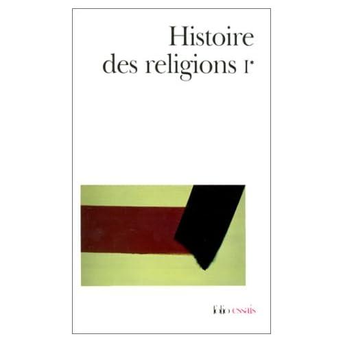 Histoire des religions, Tome I, volume 1