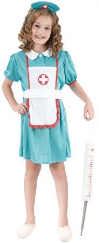 wester-Kostüm für Mädchen 140/152 (10-12 Jahre) (Krankenschwester Kostüm Kind)