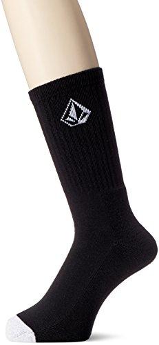 Volcom Herren Socken Full Stone, Black, One Size, D6311587BLK (Socken Skate)