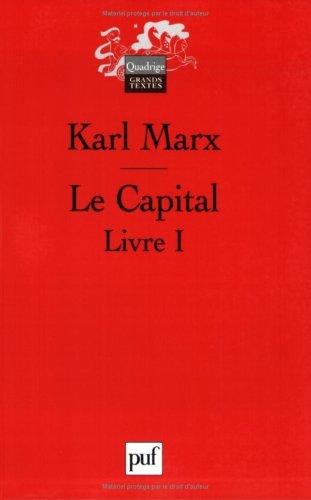 Le Capital. Livre 1, Le procès de production du capital